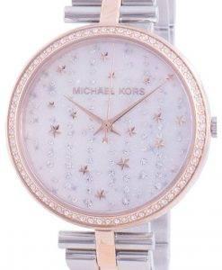 マイケルコースマシMK4452クォーツダイヤモンドアクセントレディース腕時計
