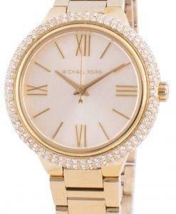 マイケルコースタリンMK4459クォーツダイヤモンドアクセントレディース腕時計