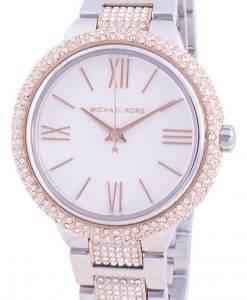 マイケルコースタリンMK4461クォーツダイヤモンドアクセントレディース腕時計