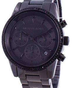 マイケルコースリッツMK6725クォーツダイヤモンドアクセントレディース腕時計
