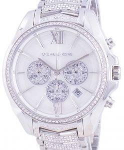 マイケルコースホイットニーMK6728クォーツダイヤモンドアクセントレディース腕時計