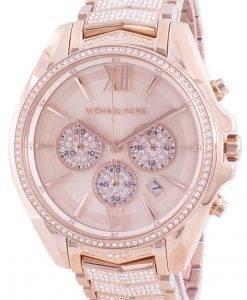 マイケルコースホイットニーMK6730クォーツダイヤモンドアクセントレディース腕時計