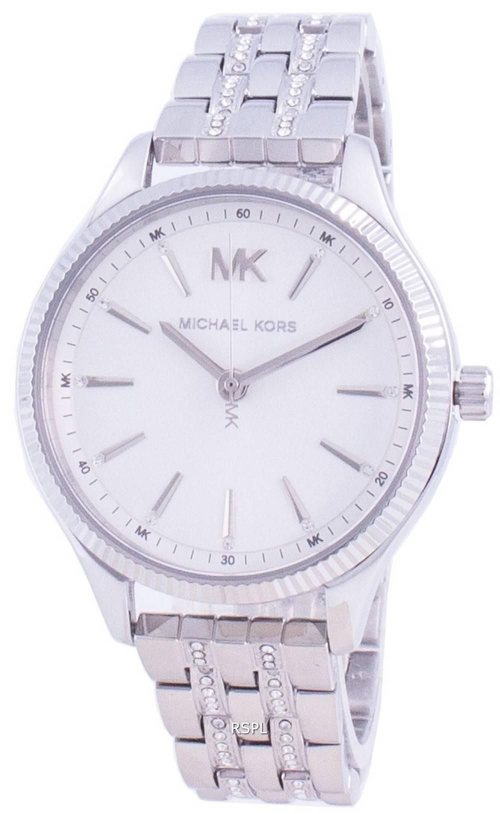 マイケルコースレキシントンMK6738クォーツダイヤモンドアクセントレディース腕時計