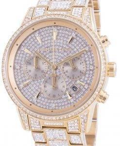 マイケルコースリッツMK6747クォーツダイヤモンドアクセントレディース腕時計
