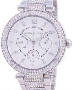 マイケルコースパーカーMK6759クォーツダイヤモンドアクセントレディース腕時計