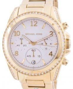 マイケルコースブレアMK6762クォーツダイヤモンドアクセントレディース腕時計