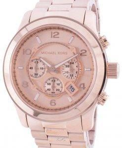 マイケルコース滑走路MK8735クォーツクロノグラフメンズ腕時計