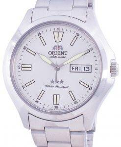 オリエント3つ星RA-AB0F12S19B自動メンズ腕時計