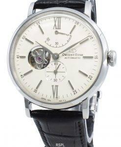 オリエントスタークラシックRE-AV0002S00Bセミスケルトン自動メンズ腕時計