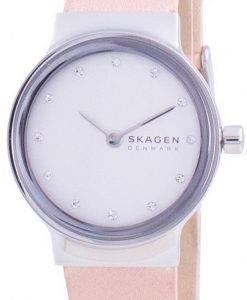 スカーゲンFreja SKW2770クォーツダイヤモンドアクセントレディース腕時計