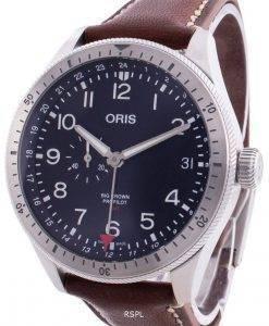 オリスビッグクラウンプロパイロット01 748 7756 4064-07 5 22 07LC 01-748-7756-4064-07-5-22-07LC自動メンズ腕時計