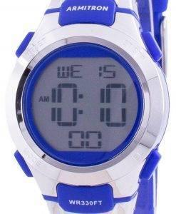 アーミトロンスポーツ457012BLUクォーツレディース腕時計