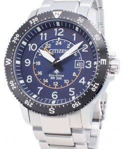 シチズンエコドライブプロマスターBJ7094-59L 200Mメンズ腕時計
