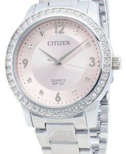 シチズンクォーツEL3090-81Xダイヤモンドアクセントレディース腕時計