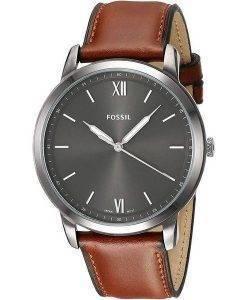 FossilミニマリストFS5513クォーツメンズ腕時計