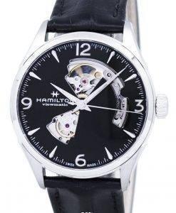 ハミルトンジャズマスタービューマティックオープンハート自動H32705731メンズ腕時計