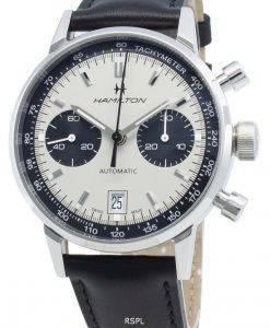 ハミルトンイントラマティックH38416711タキメーター自動メンズ腕時計