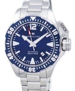 ハミルトンカーキネイビーフロッグマンオートマチックH77705145メンズ腕時計