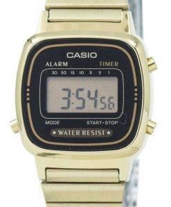 カシオ デジタル ステンレス アラーム タイマー LA670WGA 1DF LA670WGA 1 レディース腕時計