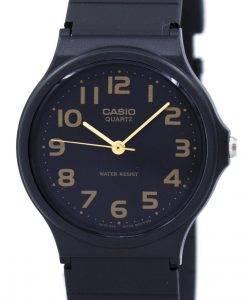 カシオクラシッククォーツブラックストラップMQ-24-1B2LDF MQ24-1B2LDFメンズ腕時計