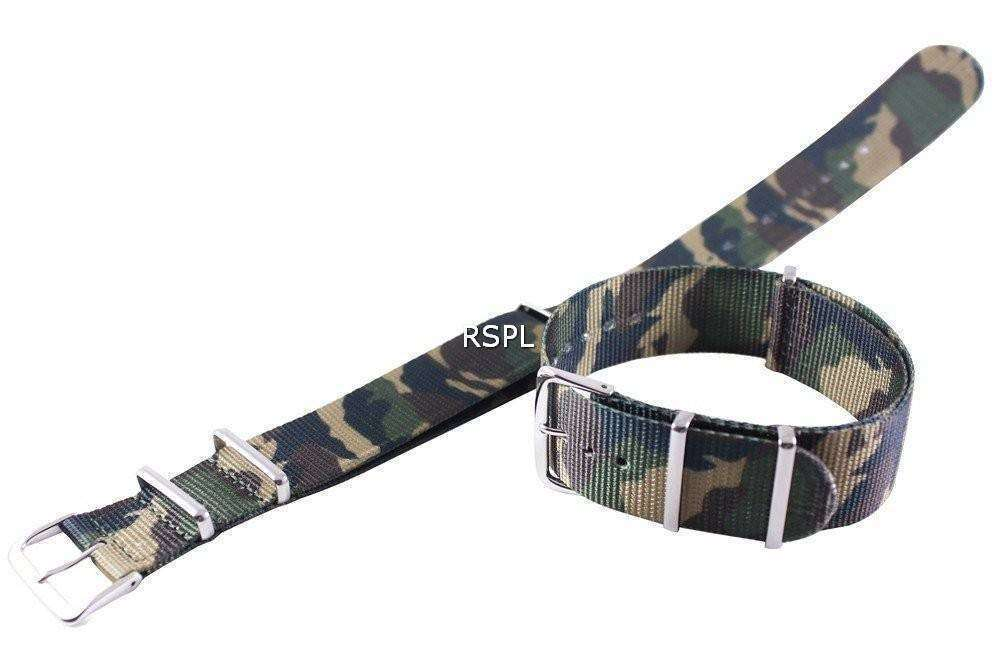 軍隊 Nato ストラップ SKX007、SKX009、skx011 腕時計、SRP497、SRP641 の 22 mm