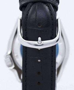 セイコー自動ダイバーズ 200 M 比黒革 SKX007K1 LS6 メンズ腕時計