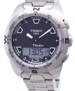 ティソTタッチ専門家チタンT013.420.44.201.00 T0134204420100コンパスメンズ腕時計