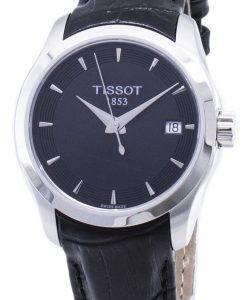 ティソT-Classic Couturier Lady T035.210.16.051.01 T0352101605101クォーツレディース腕時計