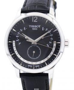 ティソトラディションパーペチュアルカレンダーT063.637.16.057.00 T0636371605700メンズ腕時計