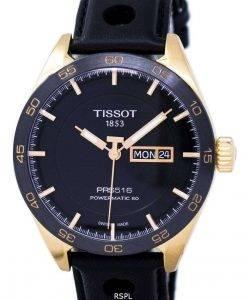 ティソTスポーツPRS 516 Powermatic 80 T100.430.36.051.00 T1004303605100メンズ腕時計