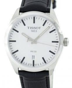 ティソTクラシックPR 100クォーツスイス製T101.410.16.031.00 T1014101603100メンズ腕時計