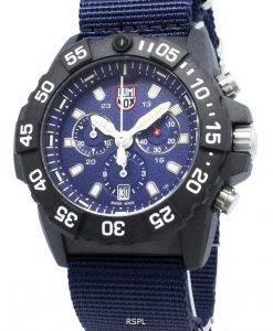 ルミノックスネイビーシールXS.3583.NDクロノグラフクォーツ200 Mメンズ腕時計