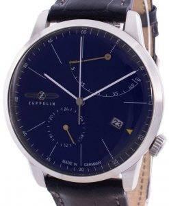 ツェッペリンフラットライン7366-3 73663自動メンズ腕時計