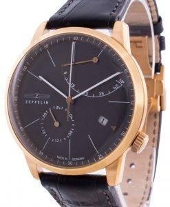 ツェッペリンフラットライン7368-2 73682自動メンズ腕時計