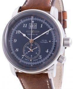 ツェッペリンLZ126ロサンゼルス8644-3 86443クォーツプルソメーターメンズ腕時計