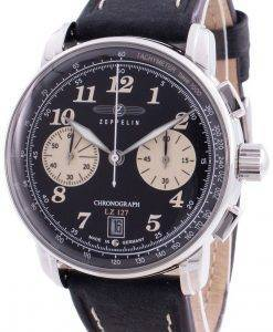 ツェッペリンLZ127 8674-3 86743クォーツクロノグラフメンズ腕時計