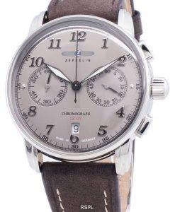 ツェッペリンLZ 127 8678-4 86784クロノグラフクォーツメンズ腕時計