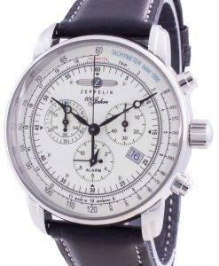ツェッペリン100ジャー8680-3 86803クォーツメンズ腕時計
