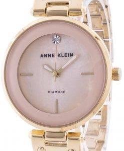 アンクライン2512LPGBクォーツダイヤモンドアクセントレディース腕時計
