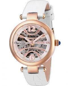 インビクタObjet Dアート26371自動スケルトンレディース腕時計