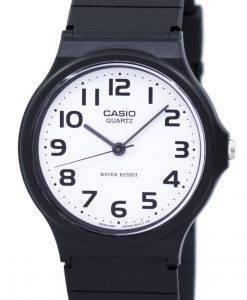 Casio Classic Analog Quartz White Dial MQ-24-7B2LDF MQ-24-7B2L Men's Watch
