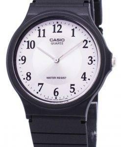 Casio Quartz Analog White Dial MQ-24-7B3LDF MQ-24-7B3L Men's Watch