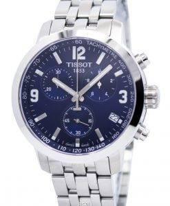 ティソPRC 200クォーツクロノグラフT055.417.11.047.00 T0554171104700メンズ腕時計