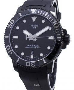 Tissot T-Sport Seastar Powermatic 80 T120.407.37.051.00 T1204073705100 Automatic 300M Mens Watch