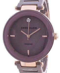 アンクライン1018RGMVクォーツダイヤモンドアクセントレディース腕時計