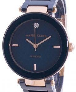 アンクライン1018RGNVクォーツダイヤモンドアクセントレディース腕時計