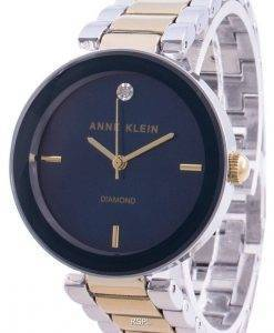 アンクライン1363NVTTクォーツダイヤモンドアクセントレディース腕時計