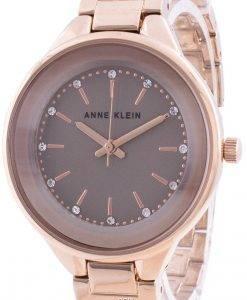 アンクラインスワロフスキークリスタルアクセント1408TNRGクォーツレディース腕時計