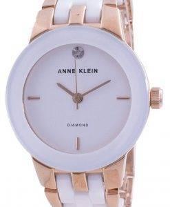 アンクライン1610WTRGクォーツダイヤモンドアクセントレディース腕時計