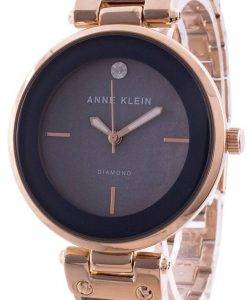 アンクライン2512GYRGクォーツダイヤモンドアクセントレディース腕時計